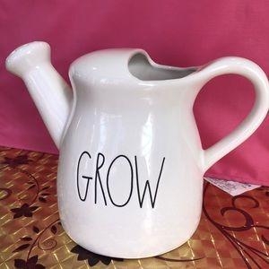 Rae Dunn watercan GROW